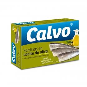 Sardinas en aceite de oliva Calvo 84 g.