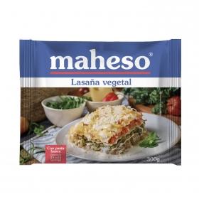 Lasaña vegetal Maheso 300 g.