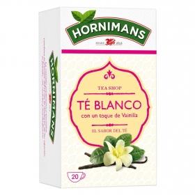 Té blanco con un toqué de vainilla en bolsitas Hornimans 25 ud.