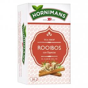 Té Rooibos con especias en bolsitas  Hornimans 20 ud.