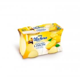 Yogur de limón Nestlé - La Lechera pack de 2 unidades de 125 g.