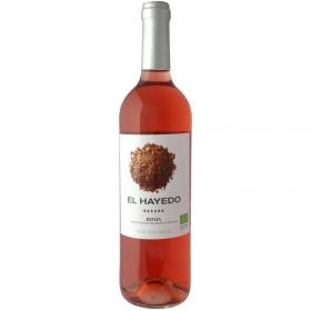 Vino rosado ecológico El Hayedo D.O. Rioja 75 cl.