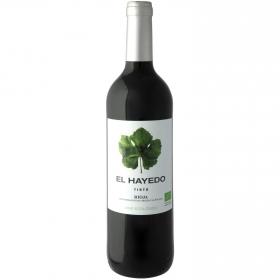 Vino tinto ecológico El Hayedo D.O. Rioja 75 cl.