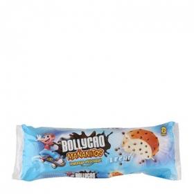 Bollo con pepitas de chocolate con leche Mañanitos Bollycao Bakery donuts iberia 8 ud.