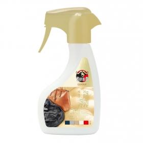 Limpiador de Cuero incoloro con cera de abejas Búfalo 250 ml.