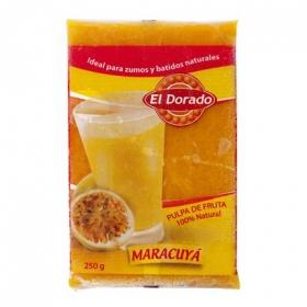 Pulpa de maracuyá El Dorado 250 g.