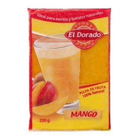 Pulpa de mango El Dorado 250 g.