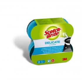 2 Estropajos Salvauñas Ergo Universal Scotch Brite
