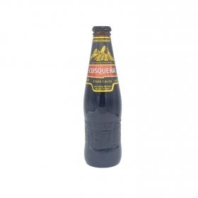 Cerveza Cuzqueña negra botella 33 cl.
