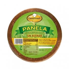 Azúcar moreno de caña Panela Gourmet Latino 454 g.
