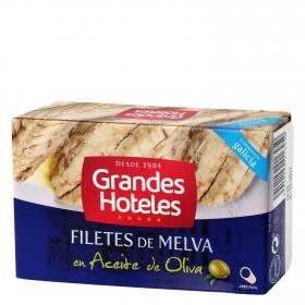 Filetes de melva en aceite de oliva Grandes Hoteles 125 g.