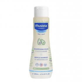 Champú bebé ultra suave Mustela 200 ml.
