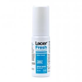 Spray bucal sin alcohol Lacer Fresh 15 ml.