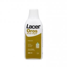 Colutorio triple acción Lacer-Oros 500 ml.