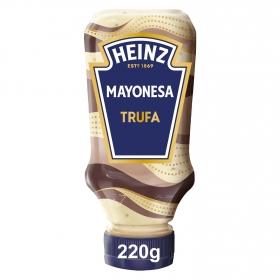 Mayonesa con trufa Heinz envase 220 ml.