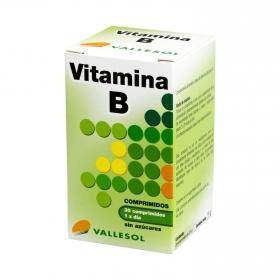 Vitamina B sin azúcar Vallesol 30 comprimidos.