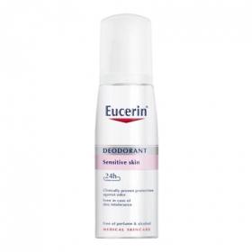 Desodorante Bálsamo spray pH5 para pieles sensibles Eucerin 75 ml.