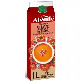 Gazpacho suave sin pepino Alvalle 1 l.
