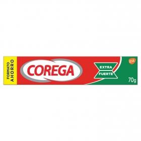 Crema fijadora para prótesis dentales EXTRA FUERTE Corega 70 g.
