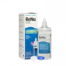 Solución única RENU Multiplus Bausch + Lomb 360 ml.