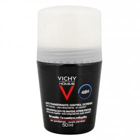 Desodorante anti-transpirante para hombre 48h Vichy 50 ml.