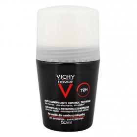 Desodorante anti-transpirante para hombre 72h Vichy 50 ml.