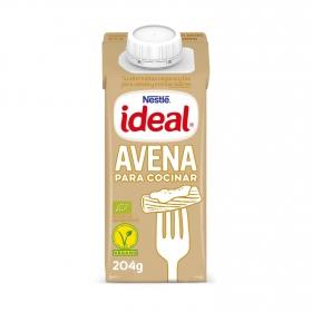 Bebida de avena evaporada ecológica Ideal sin lactosa 204 ml.