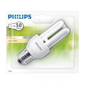 Bombilla Fluorescente Philips Genie 11W E27 Luz Cálida