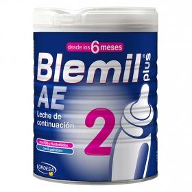 Leche infantil de continuación desde 6 meses en polvo Blemil plus AE 2 lata 800 g.