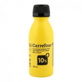 Povidona iodada 10% Carrefour 125 ml.