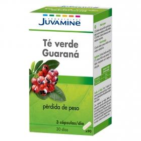 Té verde Garaná en cápsulas Juvamine 90 ud.