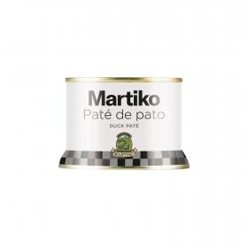 Paté de hígado de pato Martiko 130 g.