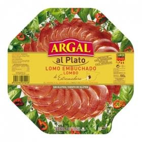Lomo en lonchas Argal 100 g.