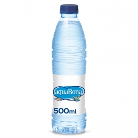 Agua mineral Aquabona natural 50 cl.