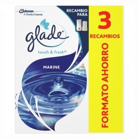 Ambientador un toque Marine recambio Glade by brise 2 ud.