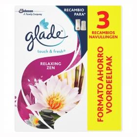 Ambientador un toque Relax Zen recambio Glade by brise 2 ud.