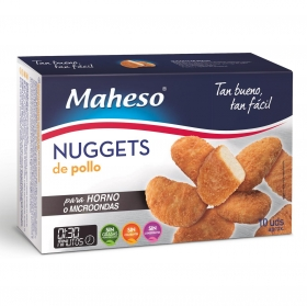 Nuggets de pollo Maheso 260 g.
