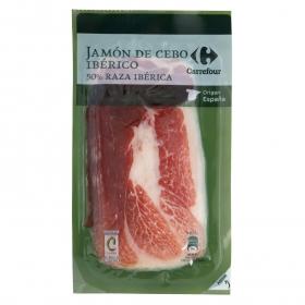 Jamón Ibérico en lonchas Carrefour 100 g.
