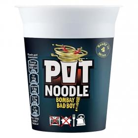 Fideos Bombay bad boy Pot Noodle 96 g.