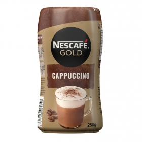Café soluble cappuccino Nescafé 250 g.