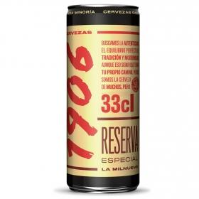 Cerveza 1906 Reserva Especial lata 33 cl.