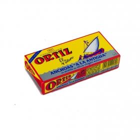 Anchoas en aceite de oliva virgen extra El Velero Ortiz 48 g.