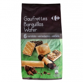 Galletas de barquillo Carrefour 400 g.