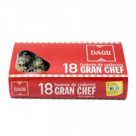 Huevos de codorniz Dagu 18 ud