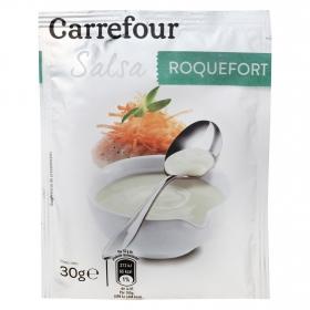 Salsa roquefort Carrefour sobre 30 g.