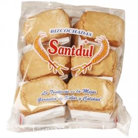 Bizcochadas Santdul pack de 12 unidades de 30 g.