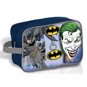 Neceser Batman: Colonia 90 ml, Gel- Champú 300 ml y Llavero