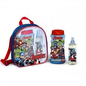 Mochila Avengers Marvel: Colonia 125 ml y Gel-Champú 475 ml