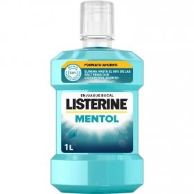 Enjuague bucal antiséptico mentol Listerine 1 l.