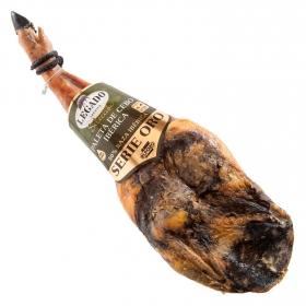 Paleta cebo ibérica curado 50% raza ibérica serie oro El Pozo sin gluten y sin lactosa pieza 4,5 Kg aprox